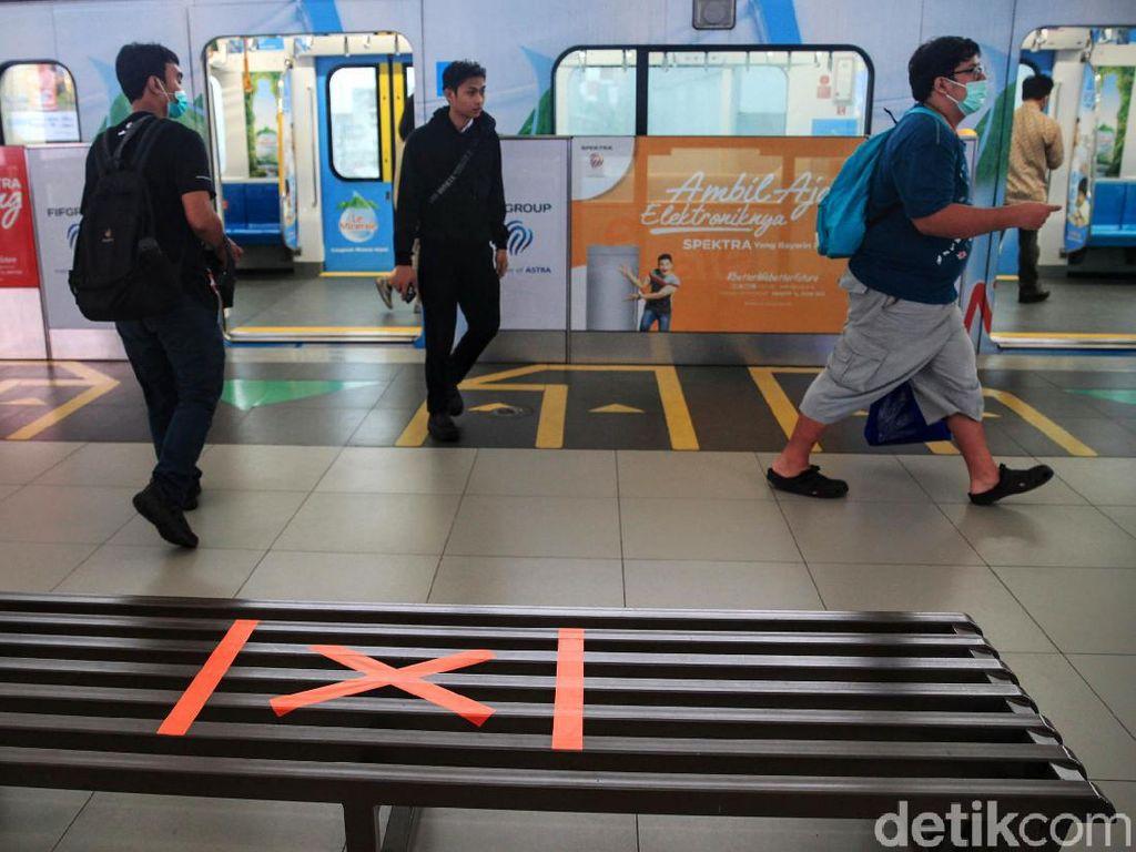 Demo Memanas, MRT Cuma Operasi dari Lebak Bulus ke Blok M
