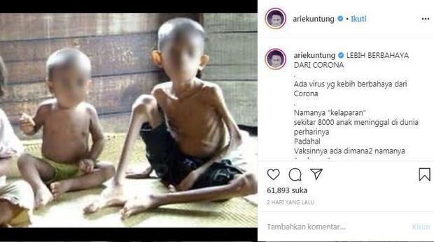 Kontroversi Arie Untung