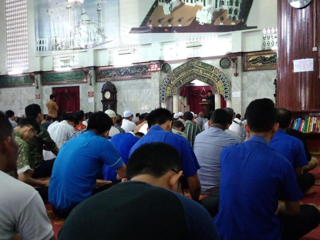 Masjid Agung Medan Bakal Gelar Salat Id, Jemaah Wajib Pakai Masker