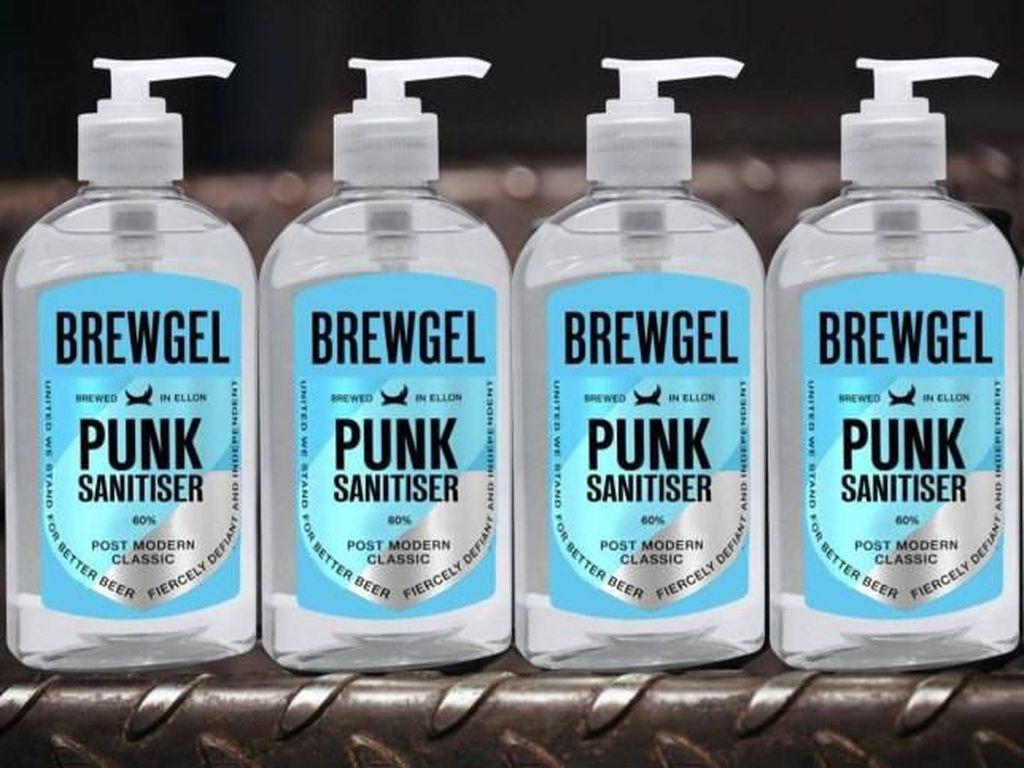 Atasi Virus Corona, Pabrik Minuman Beralkohol Kini Produksi Hand Sanitizer