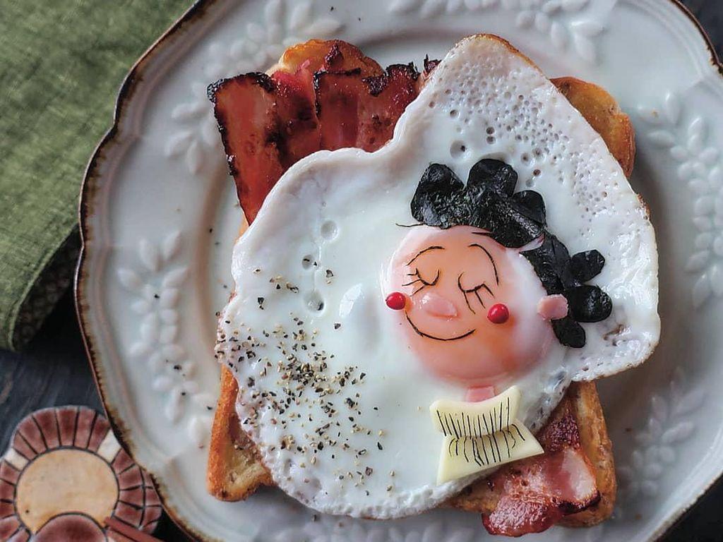 10 Kreasi Telur Lucu Ini Bisa Dicontek Agar Anak Doyan Makan