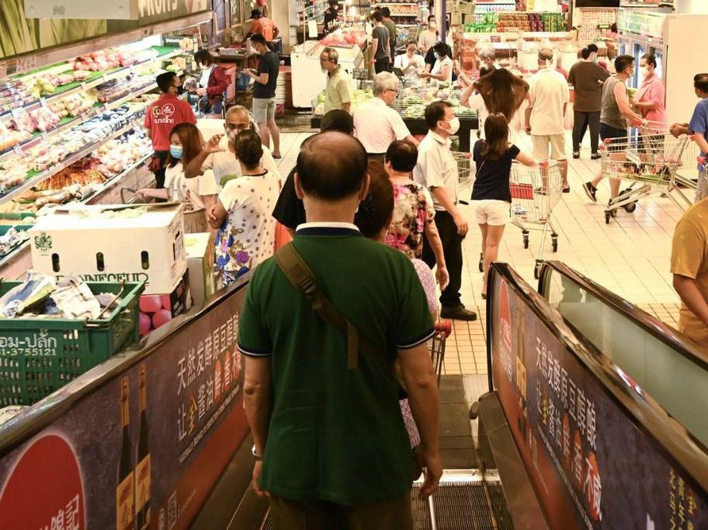 Stok Pangan Aman, Pemerintah Minta Masyarakat Tak Panic Buying