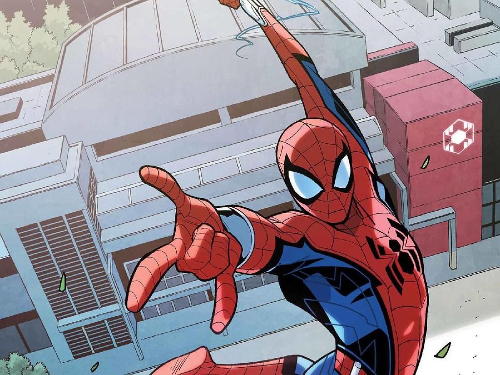 Spider-Man Gabung di Tony Stark