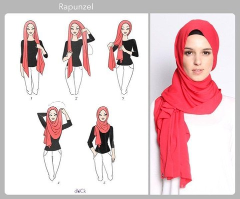 Cuma Butuh 2 Menit Tutorial Hijab Modern Tanpa Jarum Yang Praktis Banget
