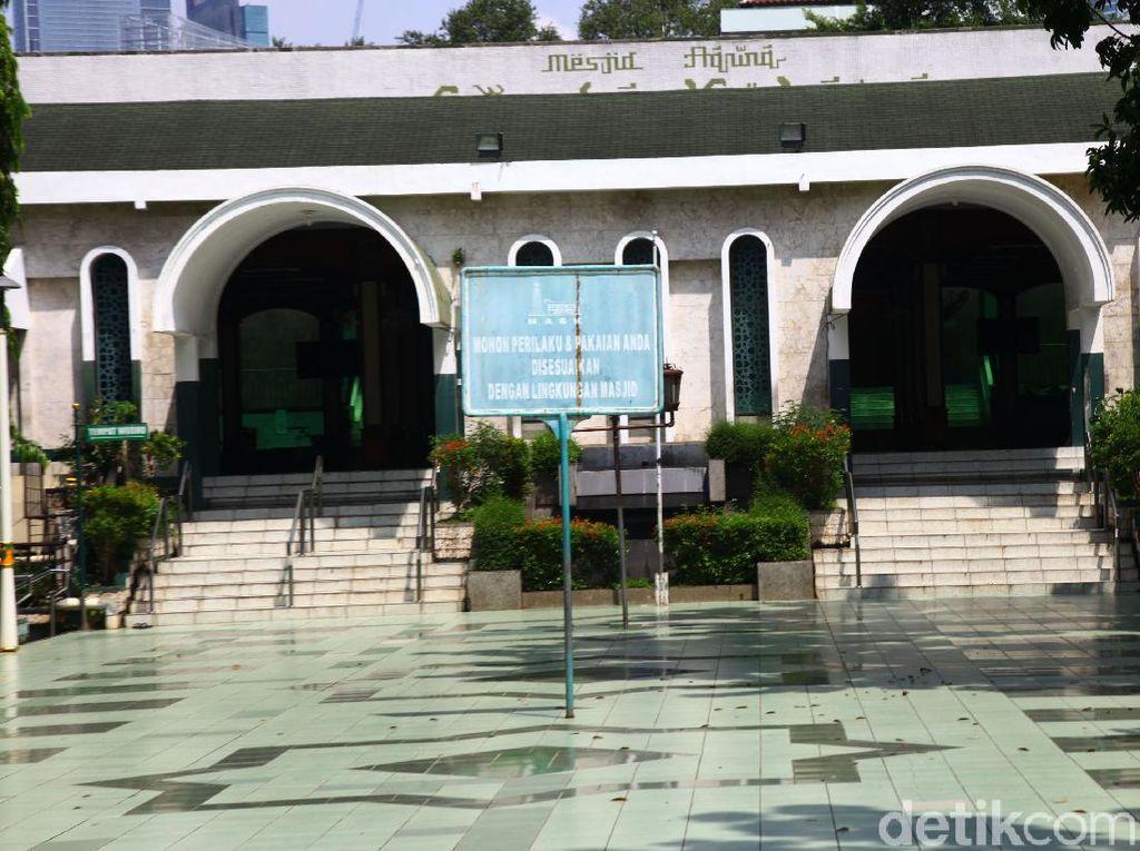 Gelar Salat Id, Masjid Sunda Kelapa Jakarta Batasi Kapasitas 50% Jemaah