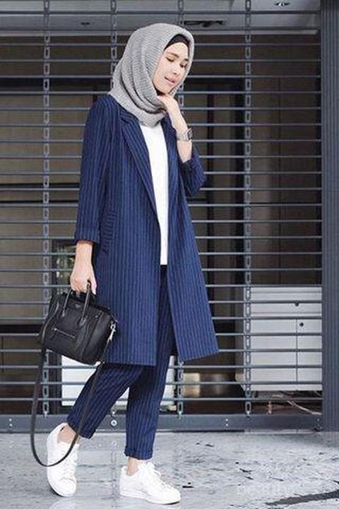 Dengan 6 Model Baju Kerja Casual Muslimah Ini Tampil Modis Ke Kantor Ngga Akan Ribet