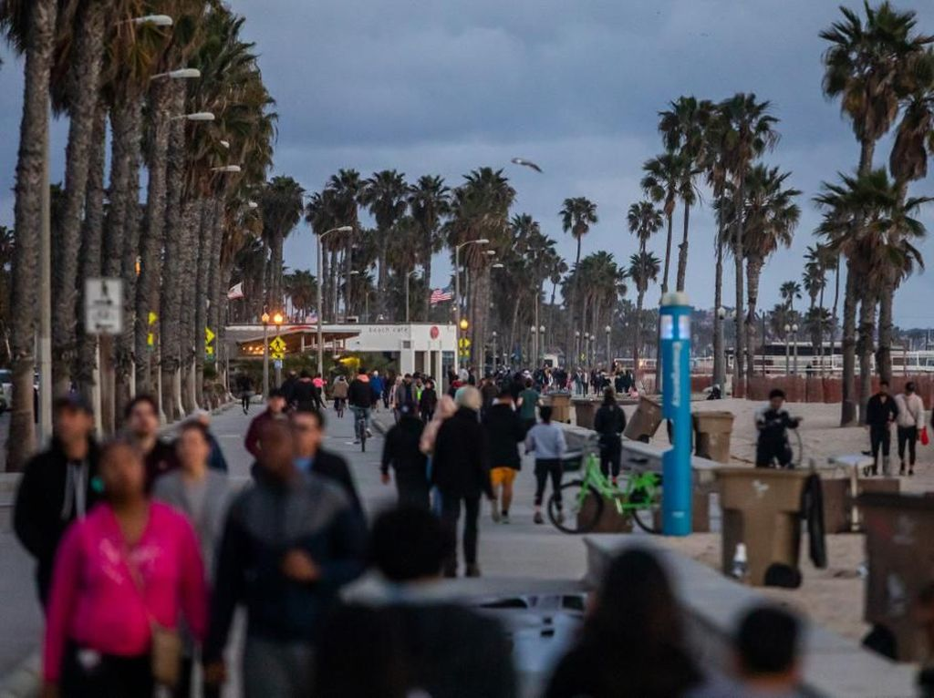 California Di-lockdown karena Corona, 40 Juta Orang Diminta Tetap di Rumah
