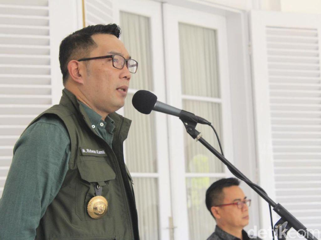 Ridwan Kamil Minta Daerah di Jabar Segera Laporkan Hasil Rapid Test