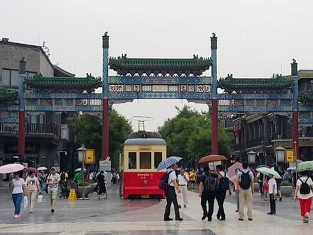 Segudang Keunikan Qianmen, Gerbangnya Beijing