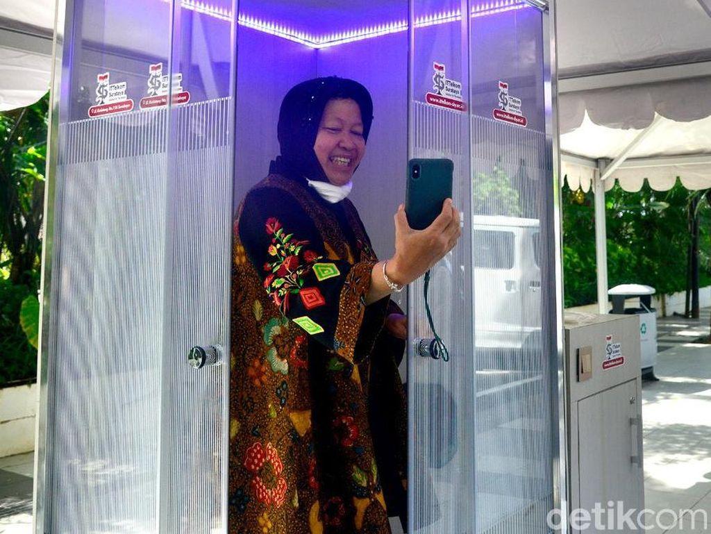 Kemenkes Larang Penggunaan Bilik Sterilisasi, Pemkot Surabaya Lakukan Evaluasi