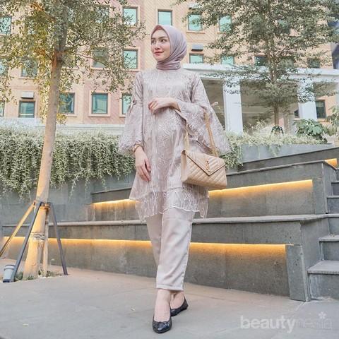 5 Tren Model Baju Tunik Motif 2020 Contek Idenya Dari Melody Prima