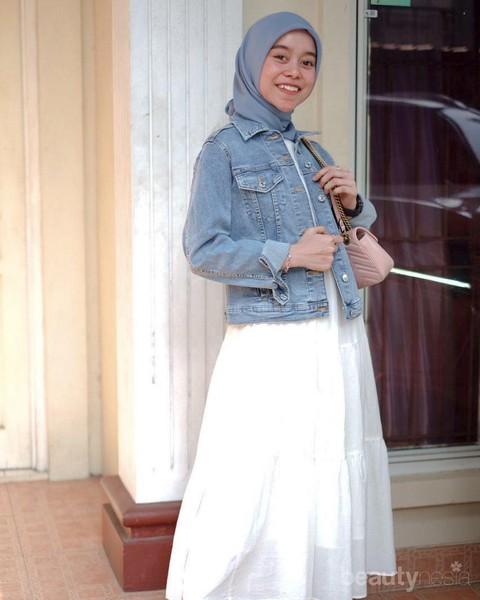 6 Gaya Hijab Penyanyi Lesti Andryani Yang Simpel Dan Kasual Pas Untuk Remaja