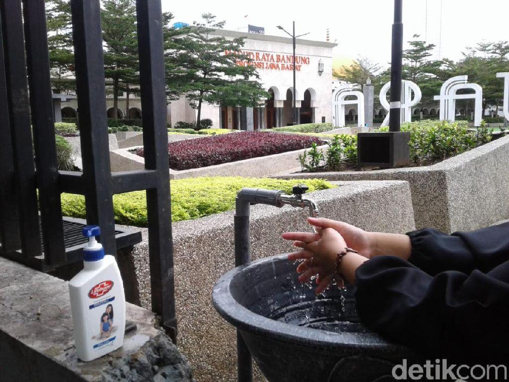 Cegah Corona, Westafel Portabel Akan Dipasang di Ruang Publik Bandung