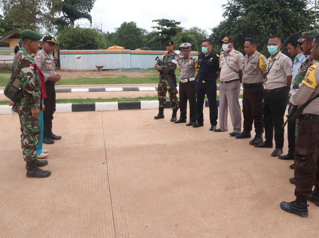 TNI-Polri Cegah Virus Corona di Perbatasan RI-PNG
