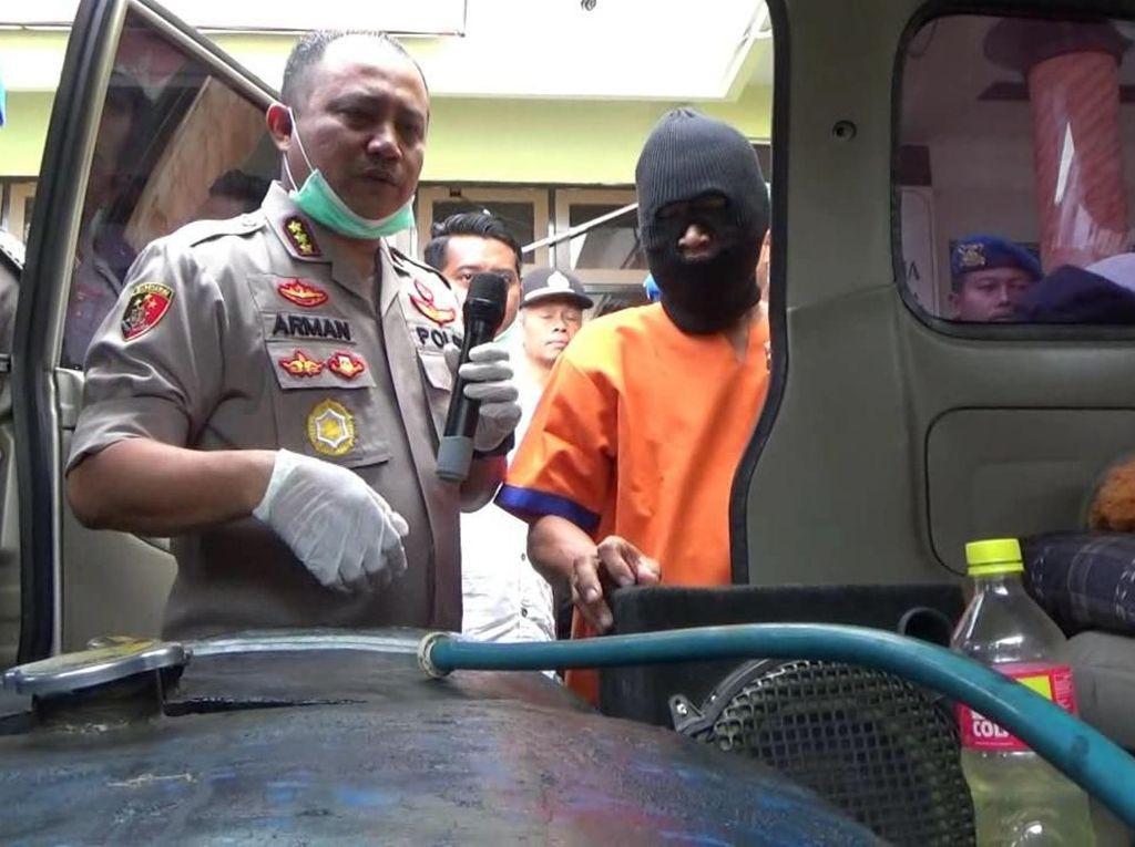 Polisi Banyuwangi Tangkap Pelaku Dugaan Penimbun BBM