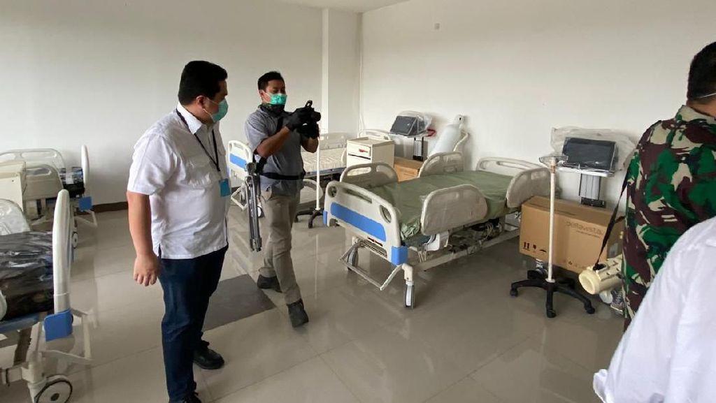 Penampakan Jeroan Wisma Atlet yang Disulap Jadi RS Darurat Corona
