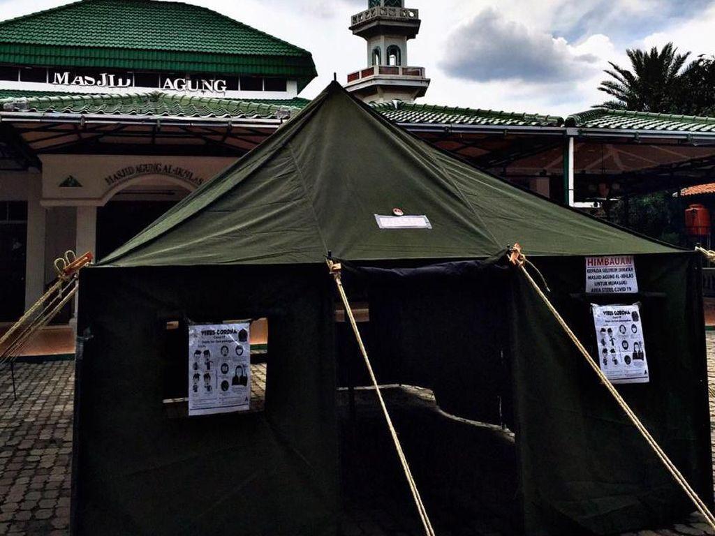 Masjid di Tangsel Ini Punya Rumah Antivirus untuk Jemaah yang Beribadah