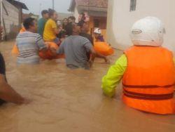Diguyur Hujan Lebat, Ratusan Rumah di Cilegon Terendam Banjir