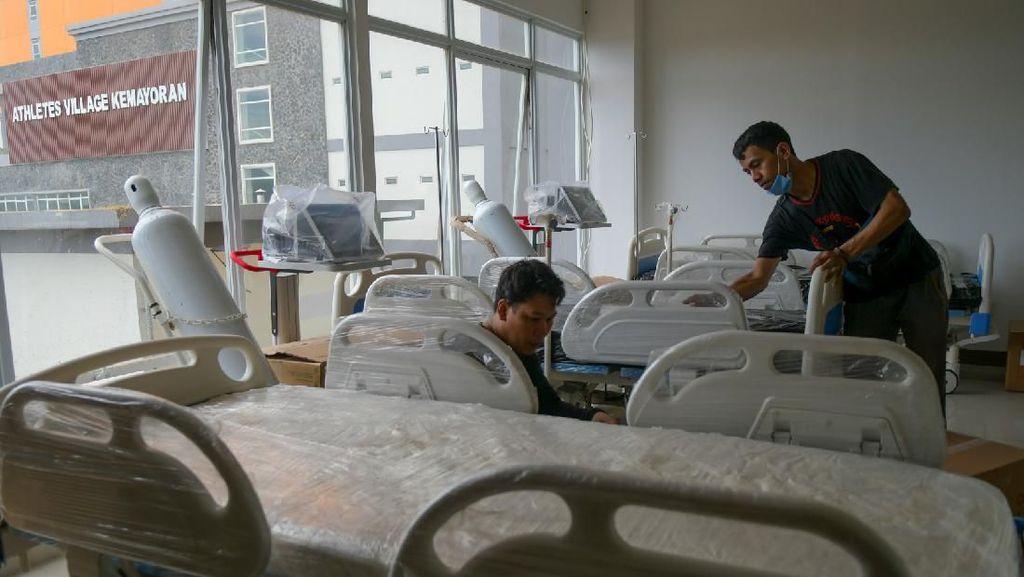 RS Darurat Corona di Wisma Atlet Mulai Digunakan Senin Besok