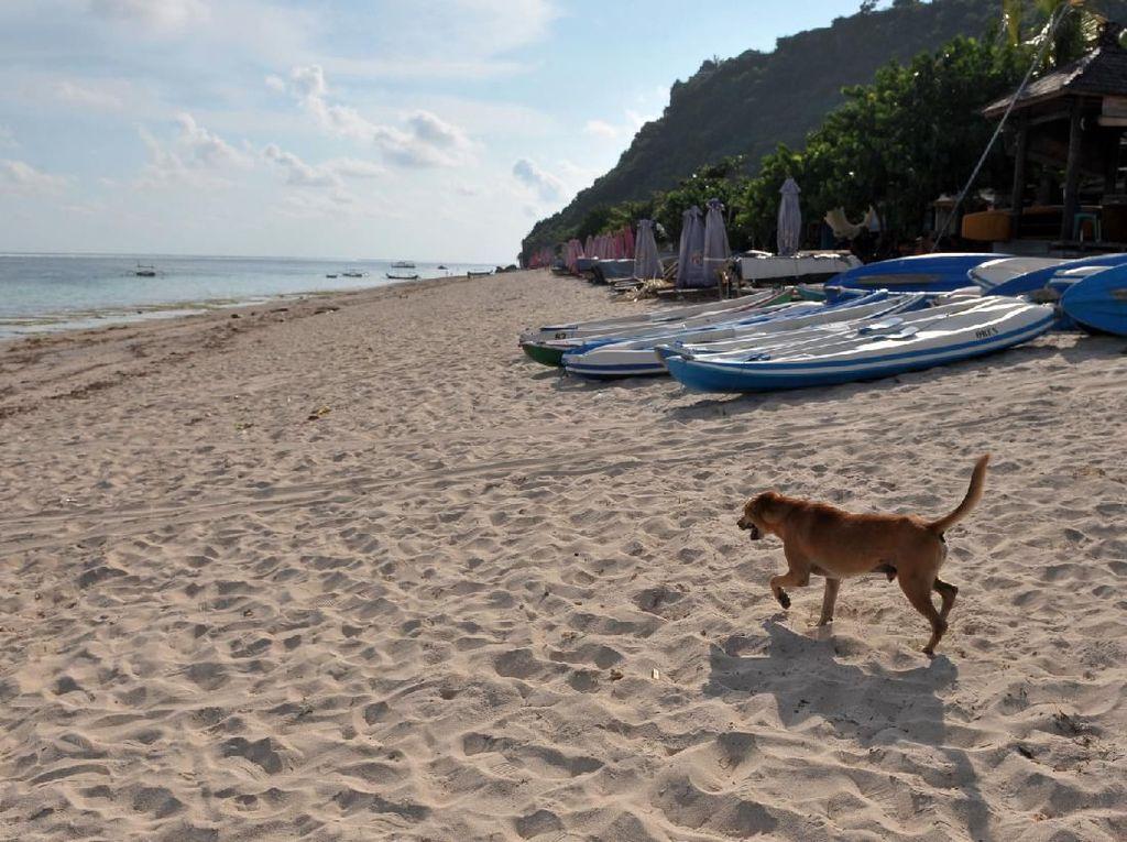 Pantai Pandawa, Surga di Balik Tebing yang Kini Sepi