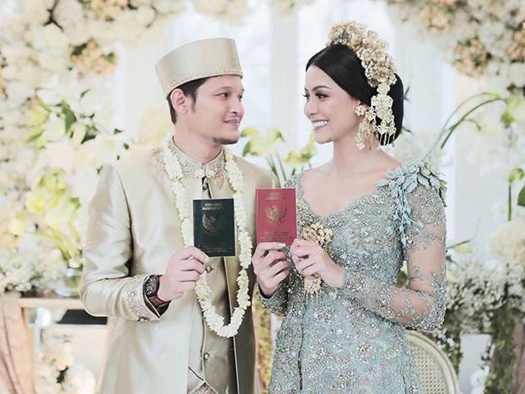 Potret Cantik Bunga Jelitha Ibrani Menikah Saat Pandemi Virus Corona