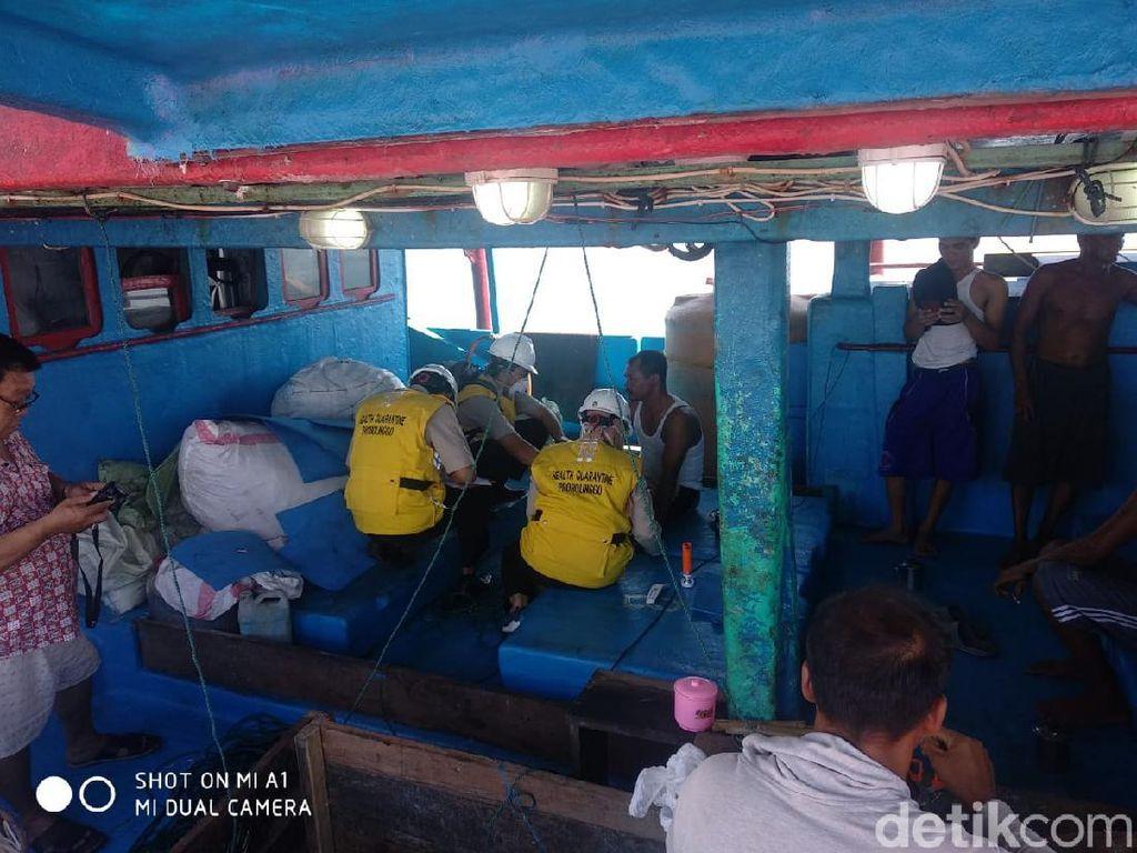 Diisolasi 14 Hari di Atas Kapal, 10 ABK KM United Mandiri Dinyatakan Sehat