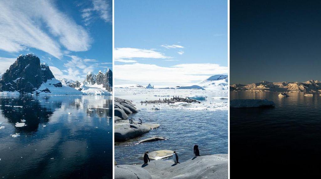 Bukti Perubahan Iklim di Antartika yang Ditangkap iPhone