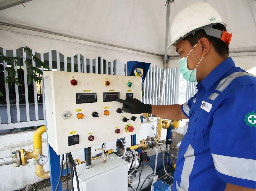 Pandemi Corona, PGN Terapkan SOP Ketat Layani Pelanggan Jargas