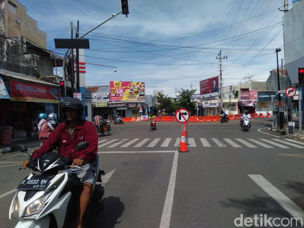 Walkot Tegal Terapkan Local Lockdown, Sejumlah Jalan Ditutup