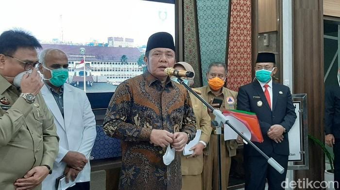 Gubernur Sumsel Herman Deru.