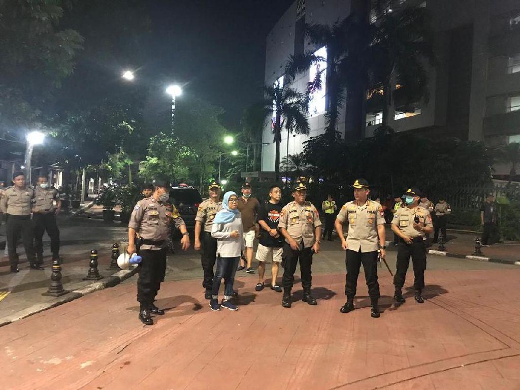 Datangi Tongkrongan di Jaksel Semalam, Polisi Imbau Warga Pulang