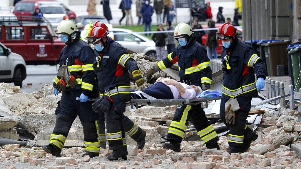 Evakuasi Korban Gempa Kroasia Berlangsung di Tengah Lockdown Corona