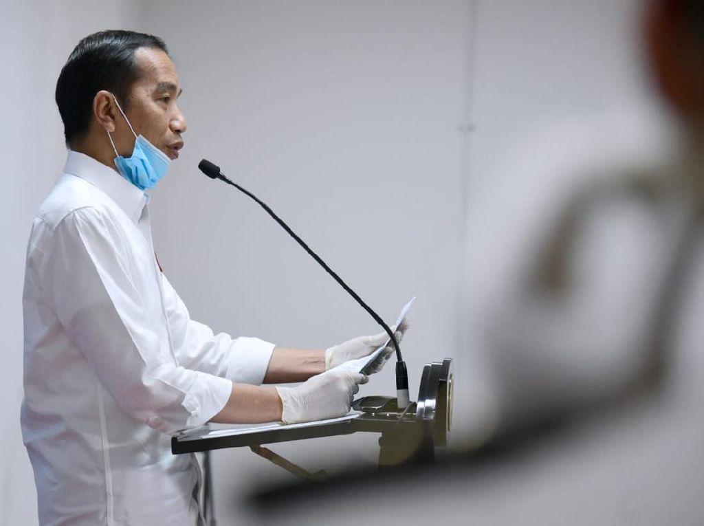 Jokowi Jabarkan Anggaran Rp 110 T Jaring Pengaman Sosial