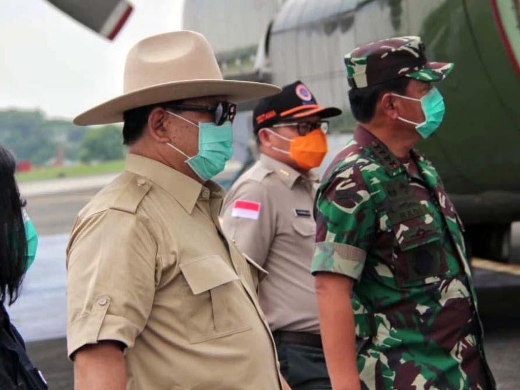 Menhan Prabowo Perintahkan Anak Buahnya Tak Mudik demi Cegah Corona