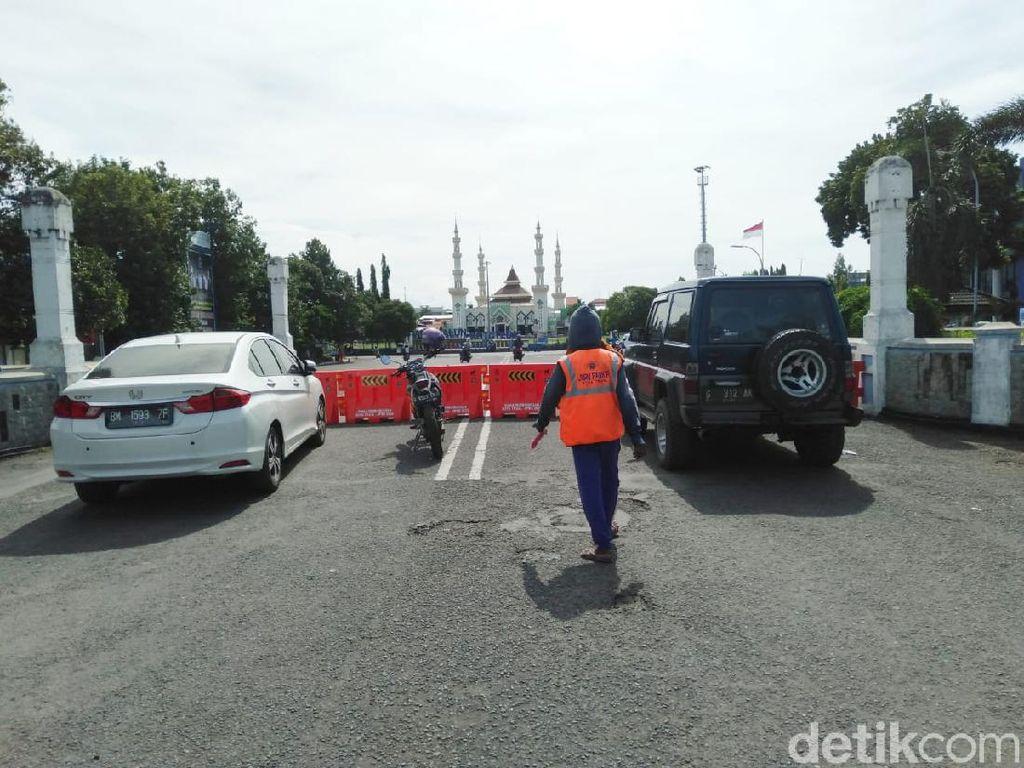 Tegal Local Lockdown, Walkot: Yang Mau Masuk Kota Harus Steril!