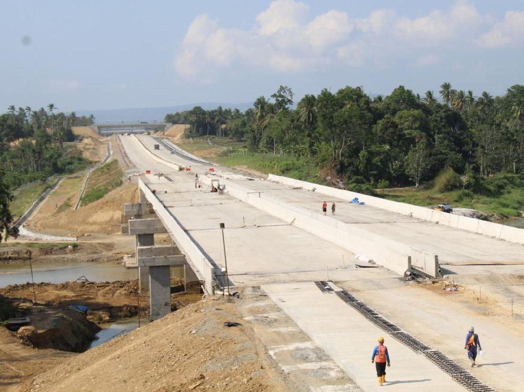 Ruas Tol Sigli-Banda Aceh Diterget Rampung Sebelum Lebaran 2020