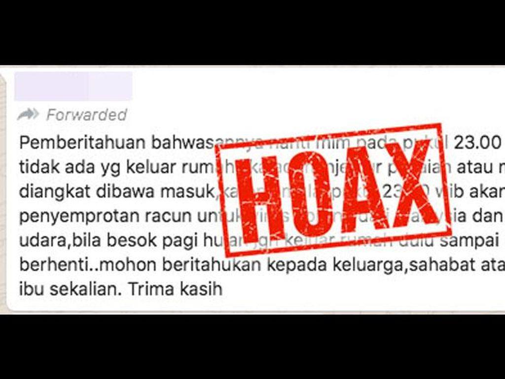 Awas Banyak Hoax soal Corona! Ini 2 Langkah yang Bisa Dilakukan untuk Mencegah