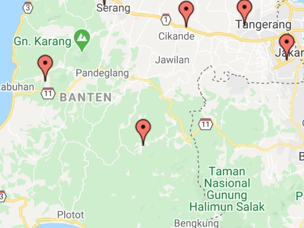40 Warga Banten Positif Corona, Ini Sebaran Daerah Terjangkit
