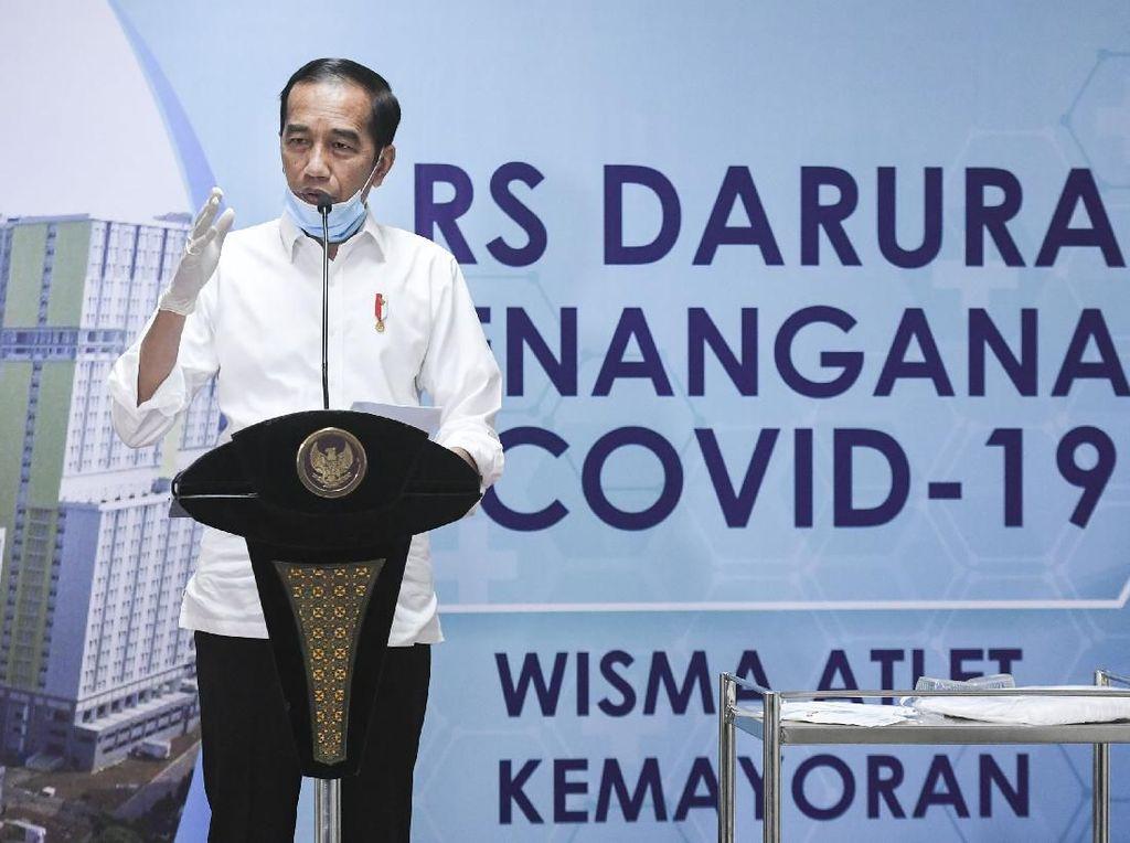 Setujukah Anda Bila Jokowi Tetapkan Darurat Sipil untuk Atasi Corona?