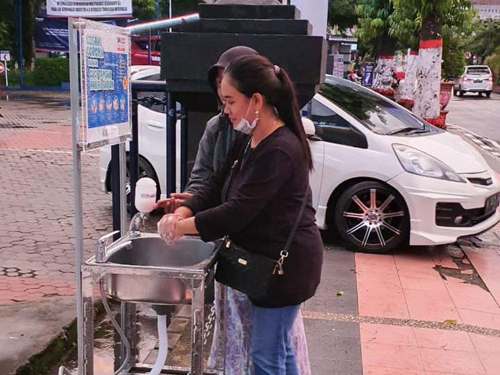 Cegah Corona Menyebar, BRI Sediakan Fasilitas Cuci Tangan Gratis