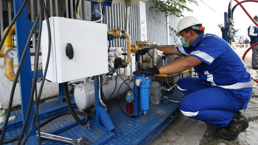 PGN Pasok Gas untuk RS Darurat Corona
