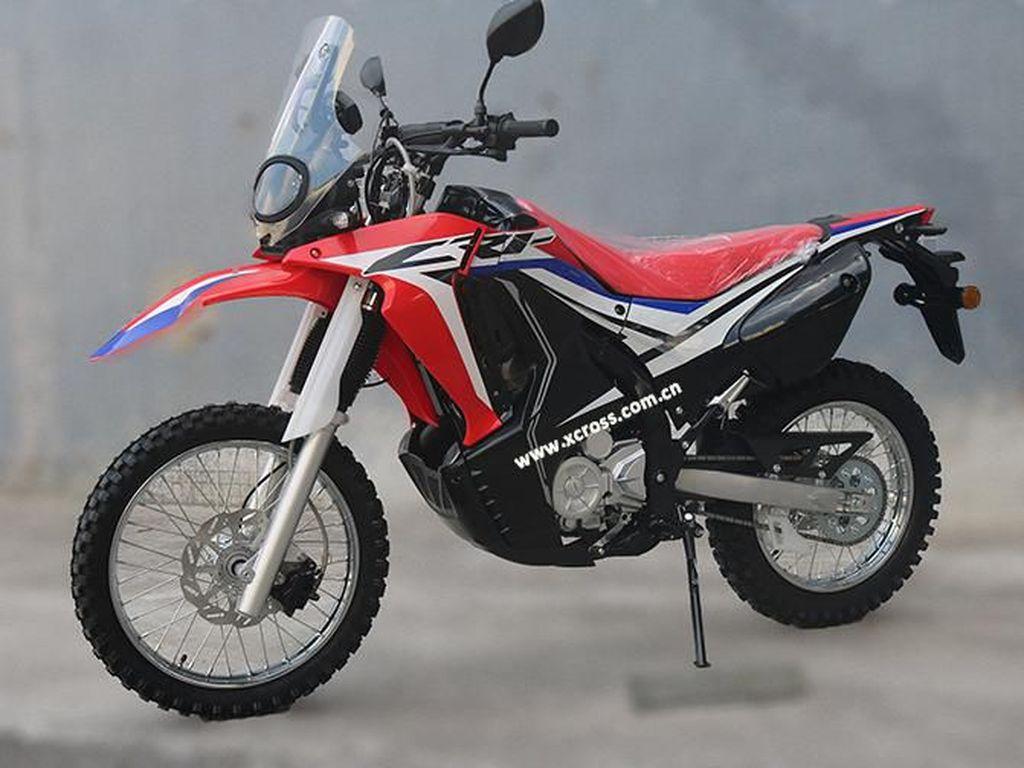 Penampakan Motor Murmer Kloningan CRF250 Rally
