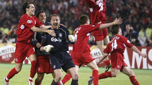 Liverpool menang atas Milan lewat adu penalti.