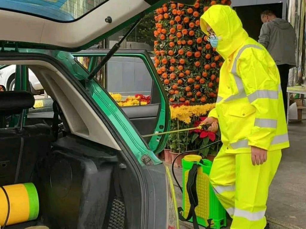 Angkutan Umum Harusnya Diseprot Disinfektan seperti di China