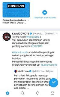 Twitter Rilis Fitur Pusat Berita Corona Terpercaya