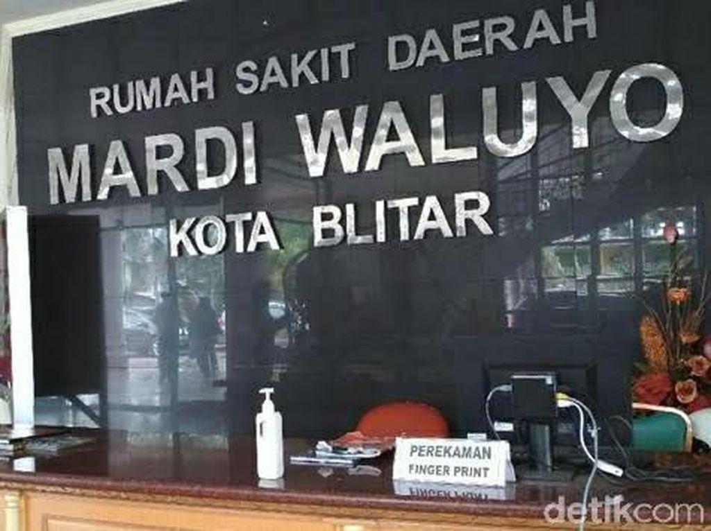 Tes Swab Negatif, Satu PDP Blitar Dipulangkan dari RSUD Mardi Waluyo.