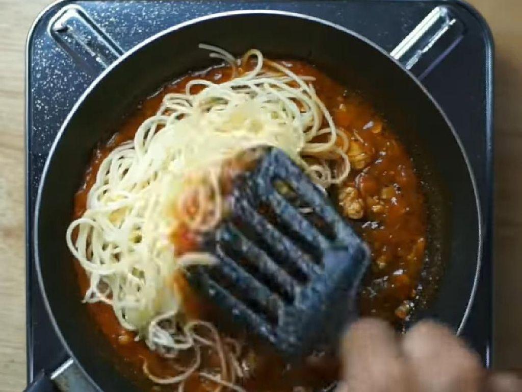Spaghetti Tempe Marinara, Pasta Hemat dan Enak Ala Masak Darurat