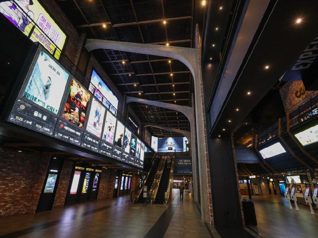 Imbas Corona, Jumlah Penonton Bioskop di Korea Selatan Turun Drastis