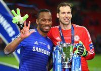 Didier Drogba yang selalu mencetak gol di pertandingan final untuk Chelsea