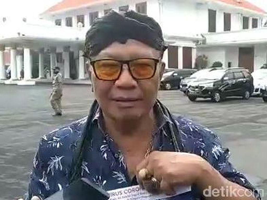 Cerita Ki Sabdo Jagad Royo Temukan Obat Corona hingga Hujat Jokowi